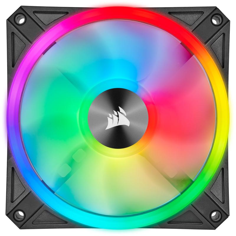 Corsair - Ventoinha Corsair iCUE QL120 RGB PWM Preto 120mm