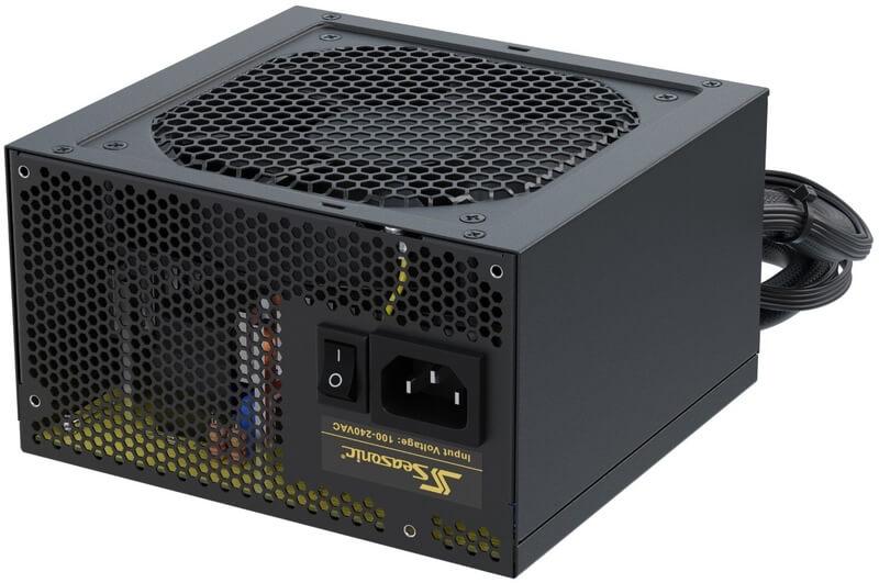 Seasonic - Fonte Seasonic Core GC 650W 80+ Gold