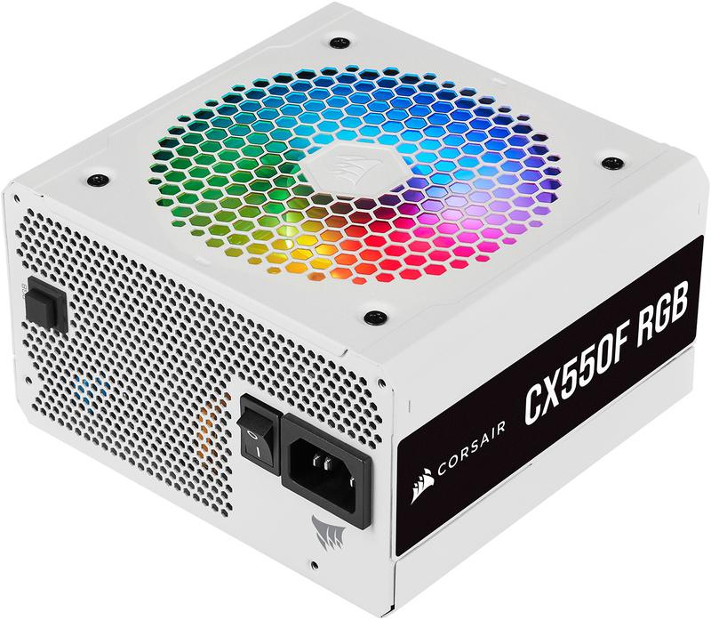 Corsair - Fonte Corsair CX-550F RGB Branco