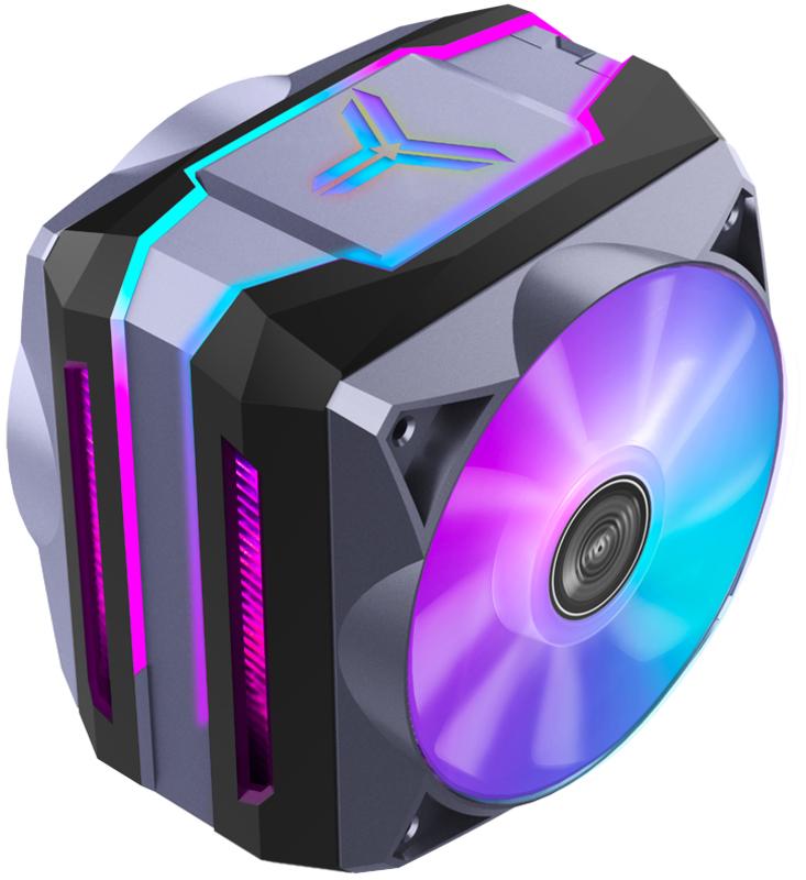 Jonsbo - Cooler CPU Jonsbo CR-1100 ARGB Cinzento - 2x 120mm