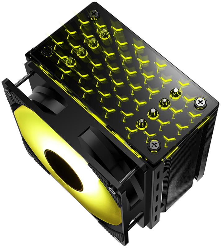 Jonsbo - Cooler CPU Jonsbo CR-201 RGB Preto - 120mm