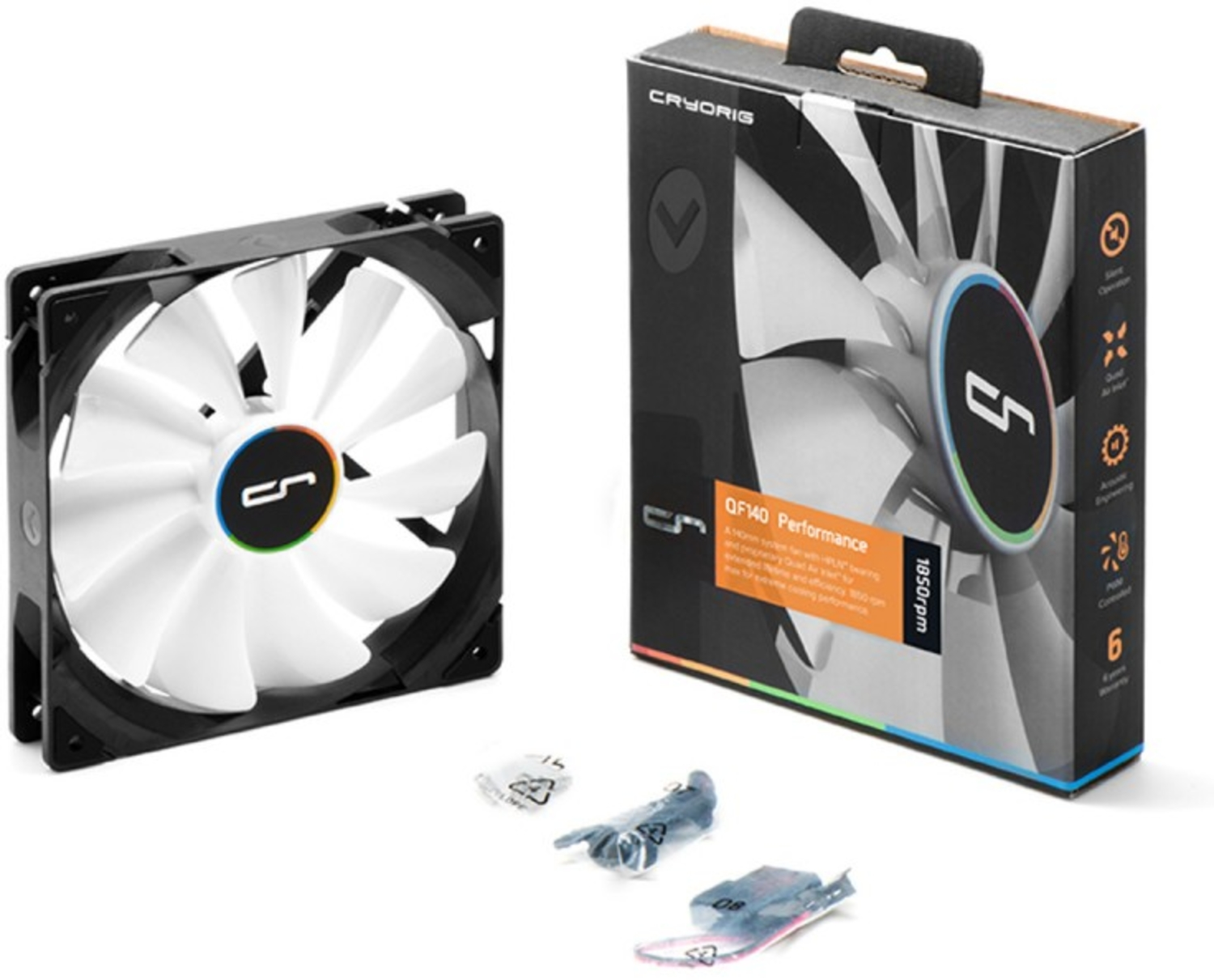 Cryorig - Ventoinha Cryorig QF140 Performance 140mm PWM 600-1850rpm