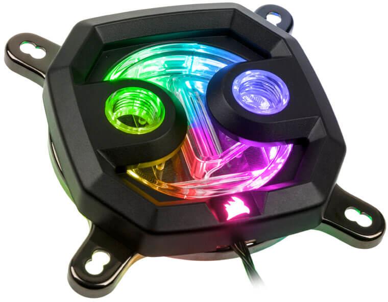 Bloco CPU Corsair Hydro X Series XC7 RGB (115X/AM4)
