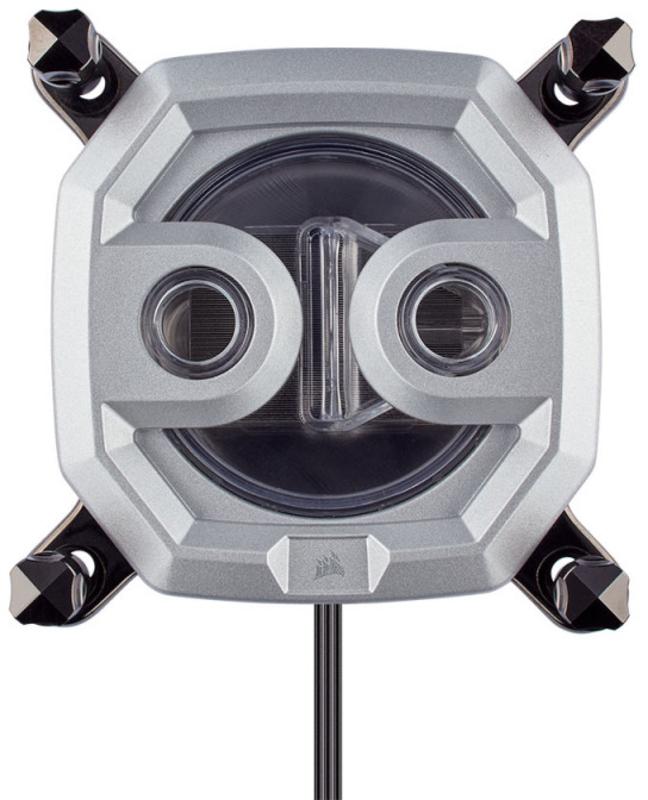 Corsair - Bloco CPU Corsair Hydro X Series XC9 RGB (2066/sTRX4) Prateado