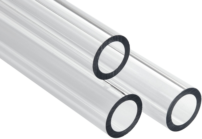 Tubo Rígido Corsair Hydro X XT PMMA 14mm 1 metro Pack 3 - Transparente