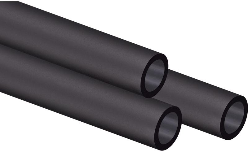 Tubo Rígido Corsair Hydro X XT PMMA 14mm 1 metro Pack 3 - Acetinado Preto