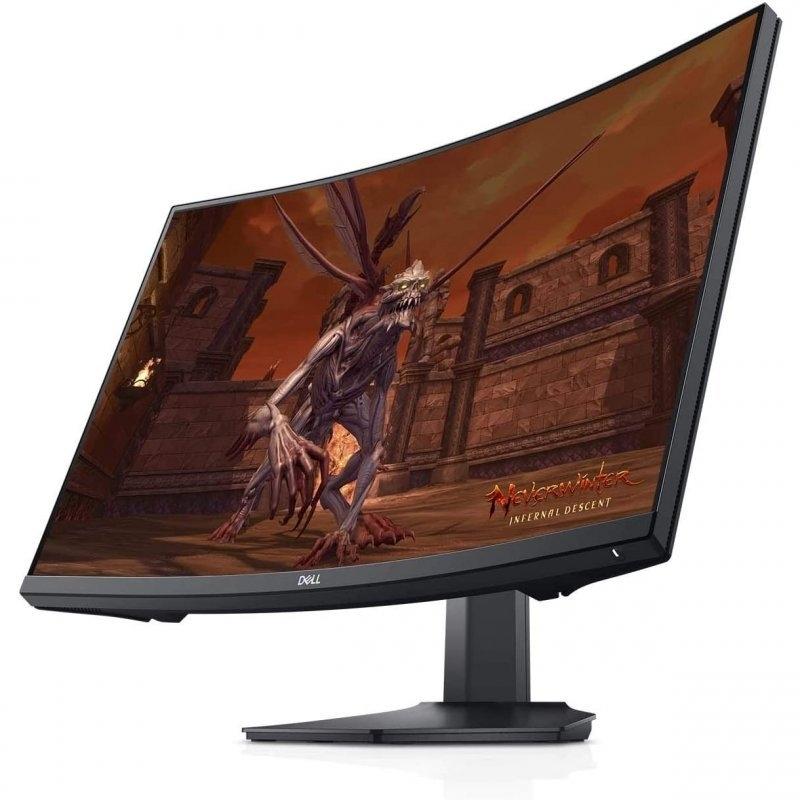 """Dell - Monitor Dell 27"""" S2721HGF Curvo FHD 144hz FreeSync Premium 1ms"""