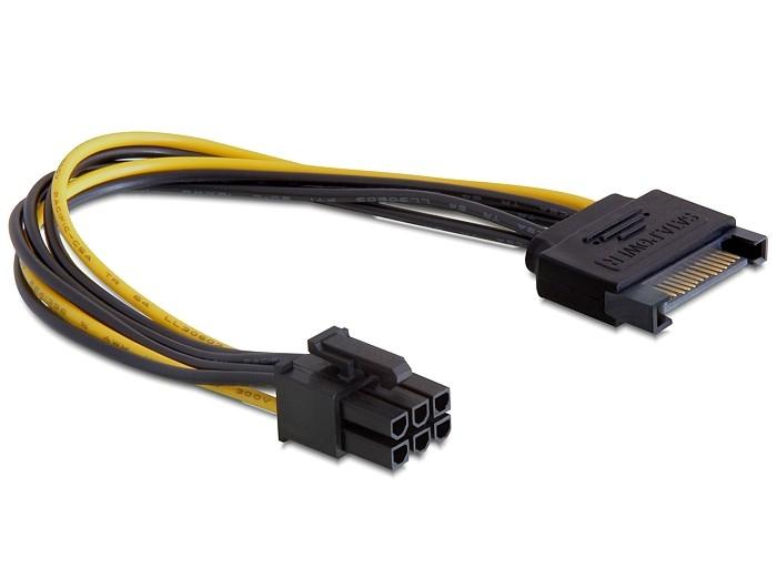 Cabo SATA para 6-Pin VGA