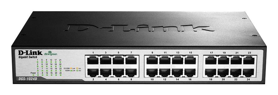 Switch D-Link DGS-1024D 24 Portas Gigabit Unmanaged