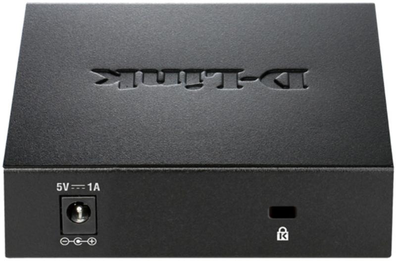 D-Link - Switch D-Link DGS-105L 5 Portas Gigabit Unmanaged