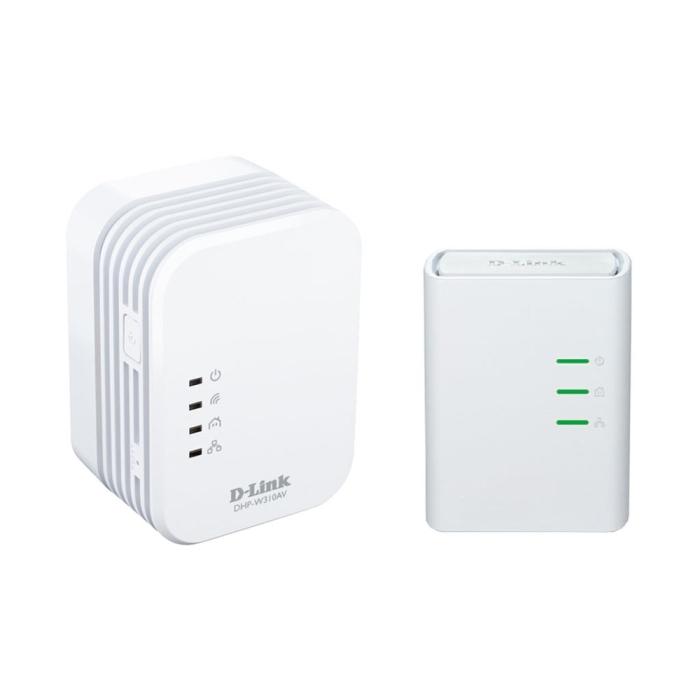 Powerline D-Link Wireless N Mini Extender 500Mbps Kit