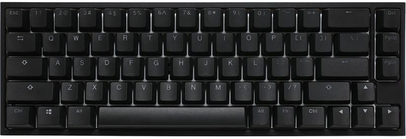 Ducky - Teclado Ducky ONE 2 SF 65% MX Silent Red RGB, ABS - Mecânico (PT)