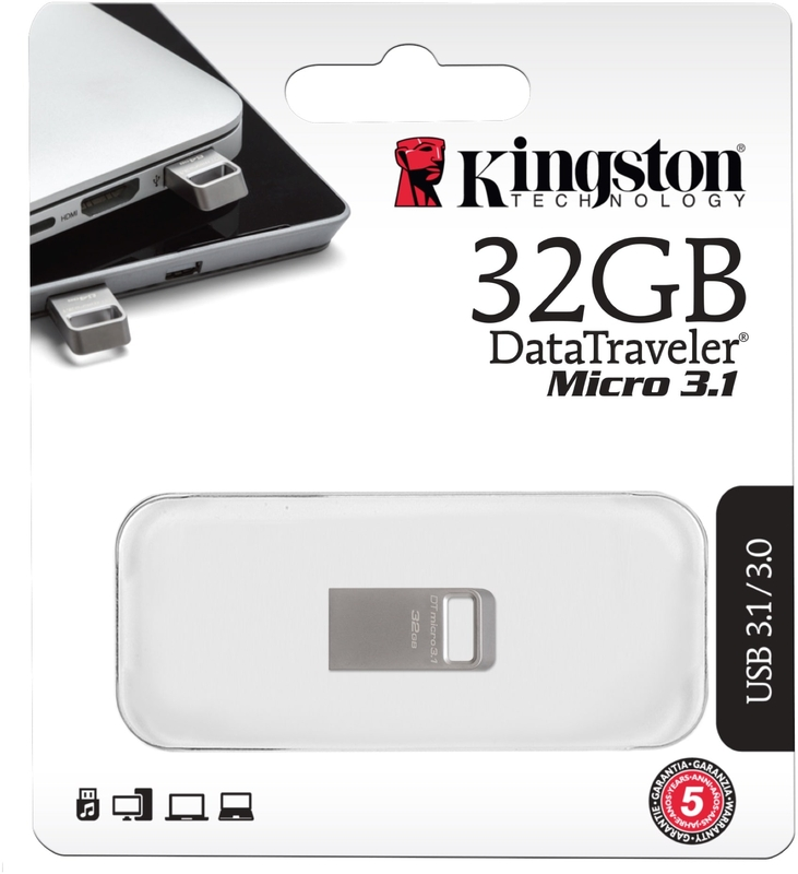 Kingston - Pen Kingston DataTraveler Micro 32GB USB3.1