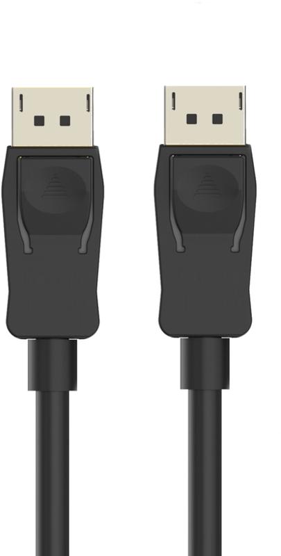 Cabo de Monitor Ewent DisplayPort 1.2 Macho/Macho 1 Metro 4K@60Hz Preto