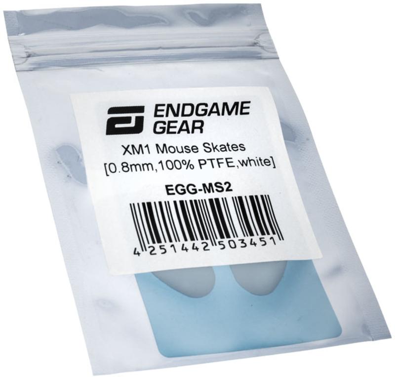 EndGame Gear - Skates para EndGame Gear XM1 100% PTFE Brancos