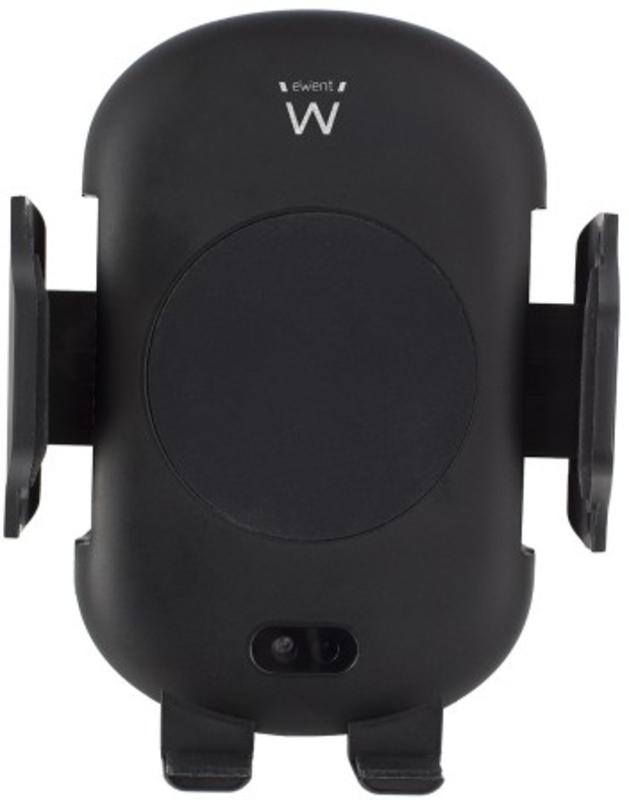 Suporte para Carro Ewent c/ Carregador Wireless Qi Preto