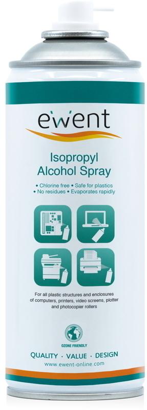 Spray Ewent Alcool Isopropílico 70% 400ml