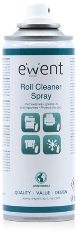 Spray Ewent Roll Cleaner para Impressoras