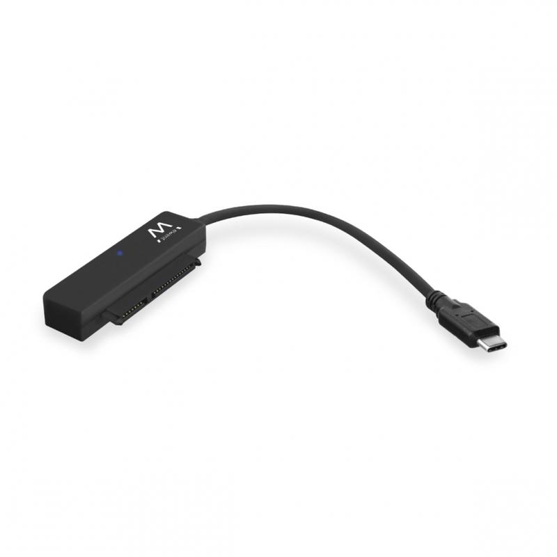 "Adaptador Ewent USB C 3.1 Gen 1 Macho >  SATA 2.5"" Macho Preto"