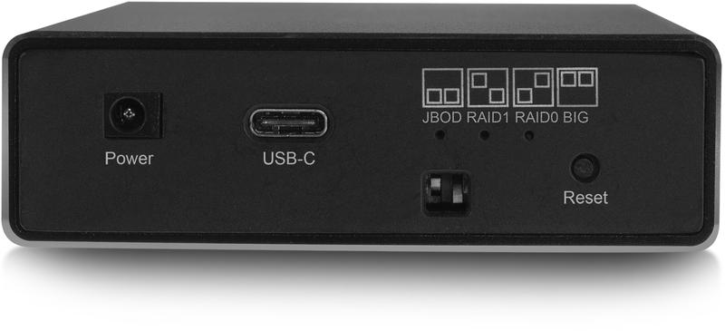"Ewent - Caixa Dual HDD Ewent 2.5"" SATA - USB 3.2 Gen 2 Type C - Suporta RAID"