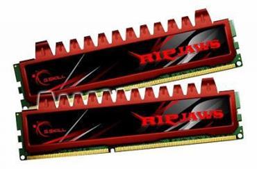 G.Skill - G.Skill Kit 8GB (2 x 4GB) DDR3 1600MHz Ripjaws CL9