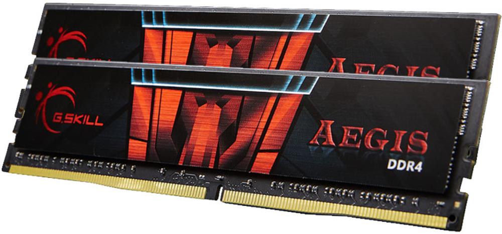 G.Skill Kit 32GB (2 x 16GB) DDR4 2400MHz Aegis CL15