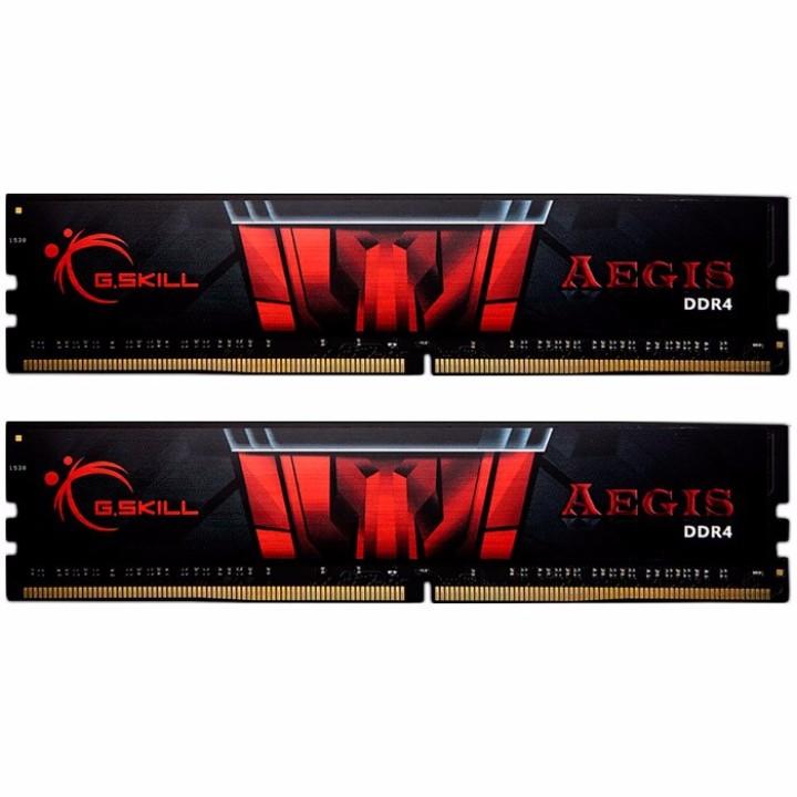 G.Skill Kit 8GB (2 x 4GB) DDR4 2400MHz Aegis CL15