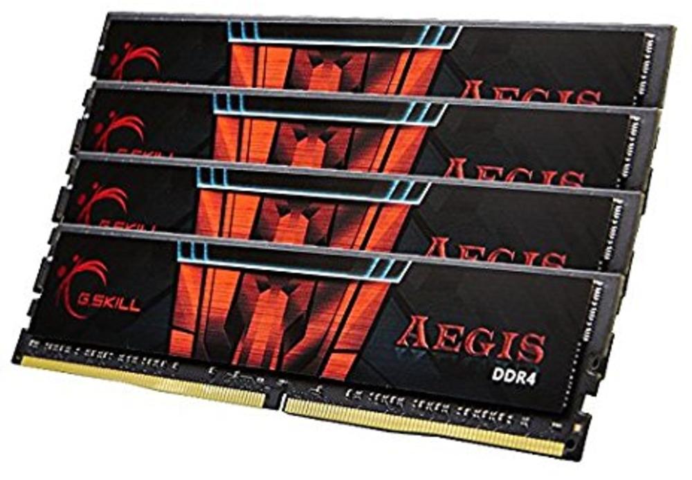 G.Skill - G.Skill Kit 64GB (4 x 16GB) DDR4 2400MHz Aegis CL15