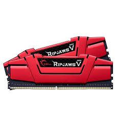 G.Skill - G.Skill Kit 16GB (2 x 8GB) DDR4 3000MHz Ripjaws V Red Ver. B CL15