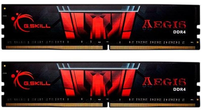 G.Skill - G.Skill Kit 16GB (2 x 8GB) DDR4 3200MHz Aegis CL16