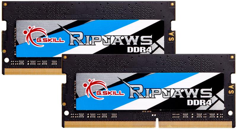G.Skill - G.Skill SO-DIMM Kit 16GB (2 x 8GB) DDR4 3200MHz Ripjaws CL18