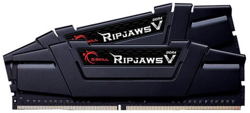 G.Skill Kit 32GB (2 x 16GB) DDR4 3600MHz Ripjaws V Black CL18