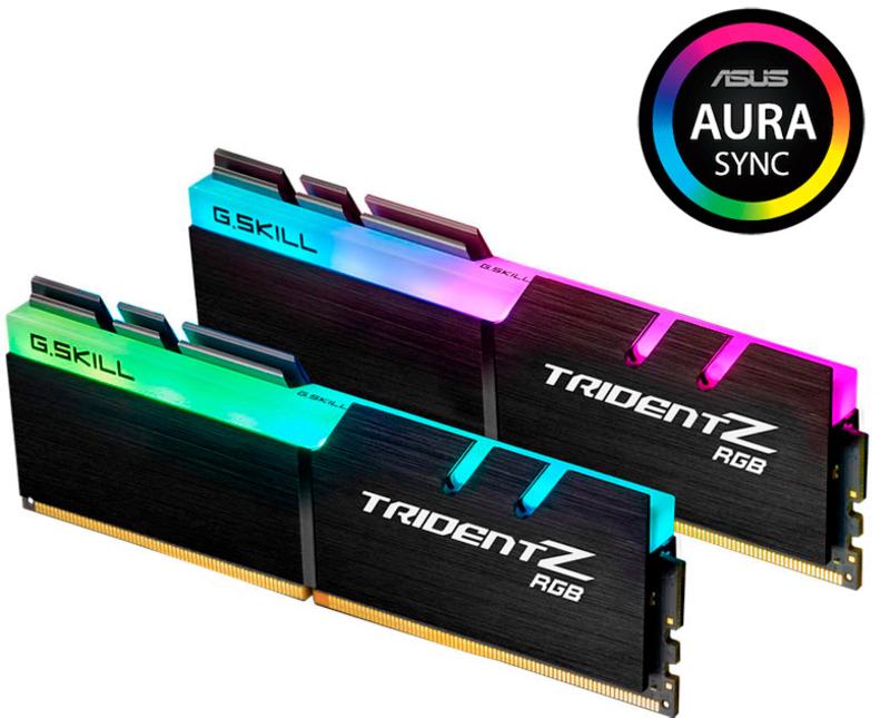 G.Skill Kit 16GB (2 X 8GB) DDR4 4000MHz Trident Z RGB CL18
