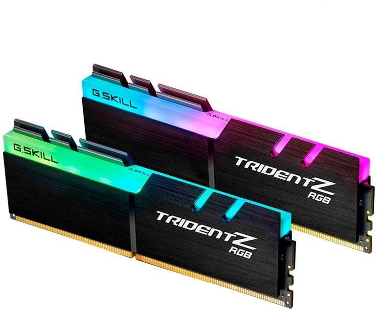 G.Skill - G.Skill Kit 16GB (2 X 8GB) DDR4 4133MHz Trident Z RGB CL19