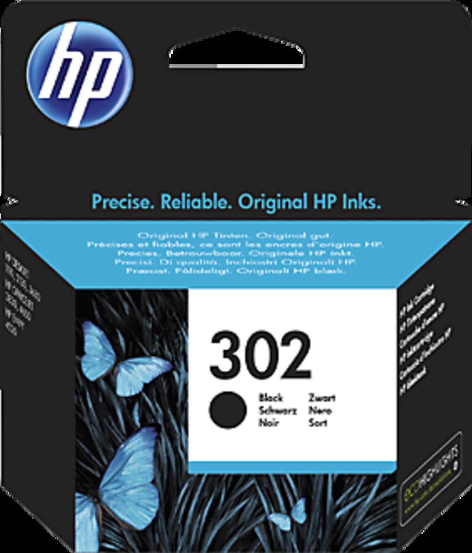 HP - Tinteiro HP 302 Preto
