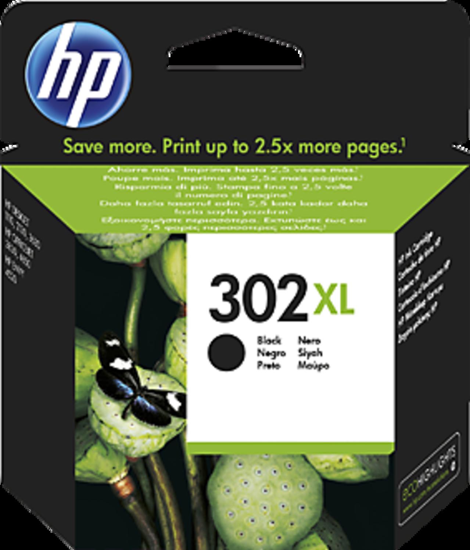 HP - Tinteiro HP 302XL Preto