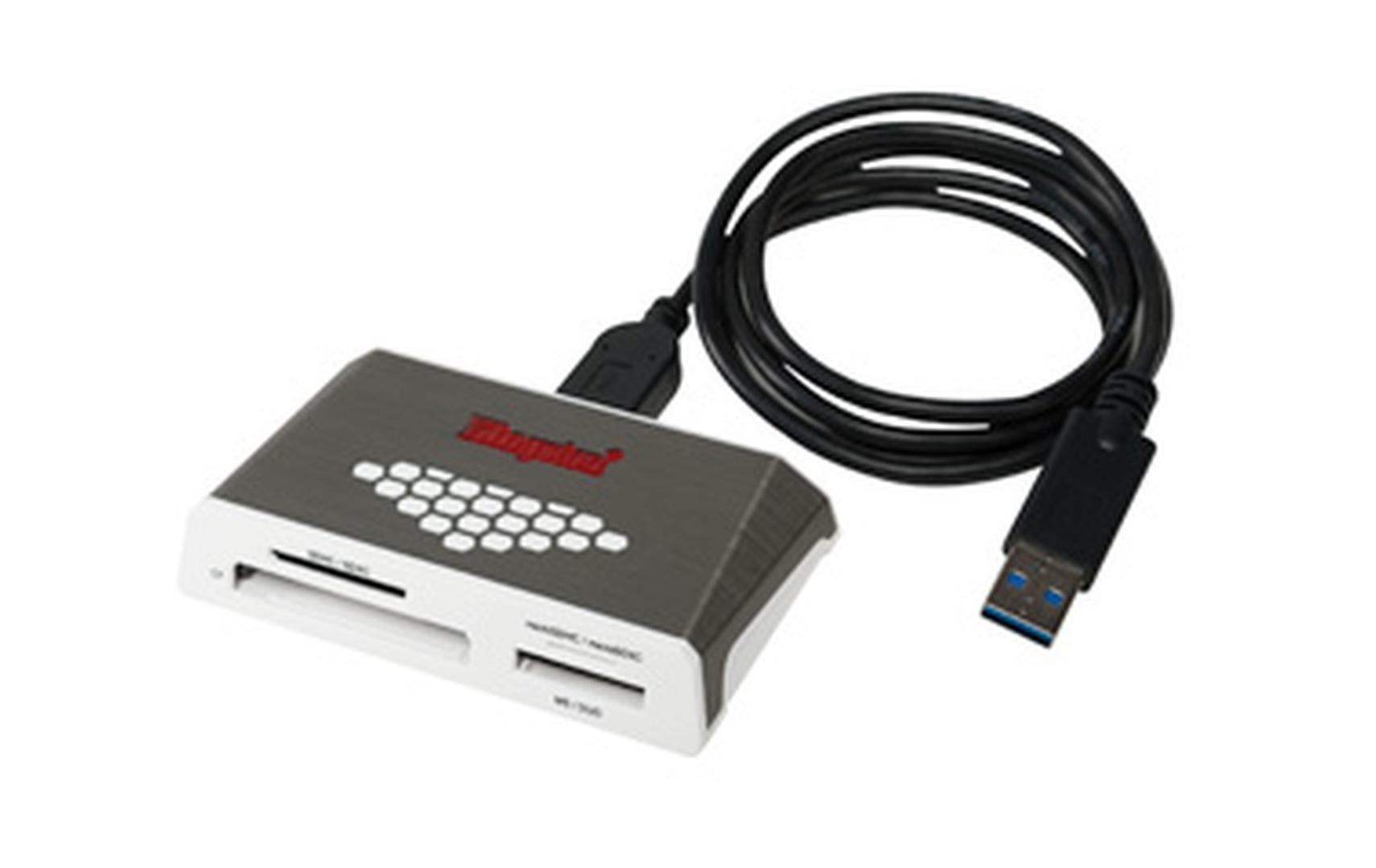 Leitor de Cartões Kingston Media Reader Gen4 USB3.0