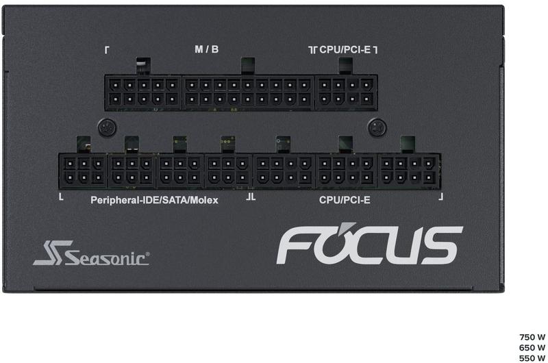 Seasonic - Fonte Modular Seasonic Focus GX-1000W 80+ Gold
