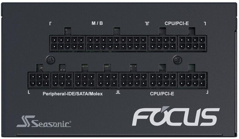 Seasonic - Fonte Modular Seasonic Focus GX-650W 80+ Gold