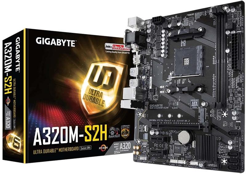 Gigabyte - ** B Grade ** Motherboard Gigabyte A320M-S2H