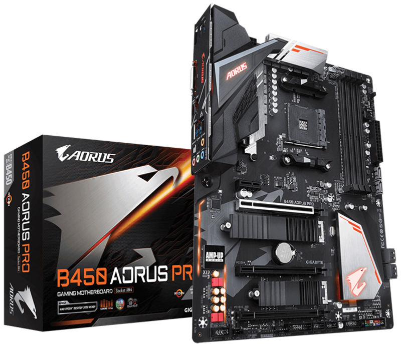 Motherboard Gigabyte B450 Aorus Pro