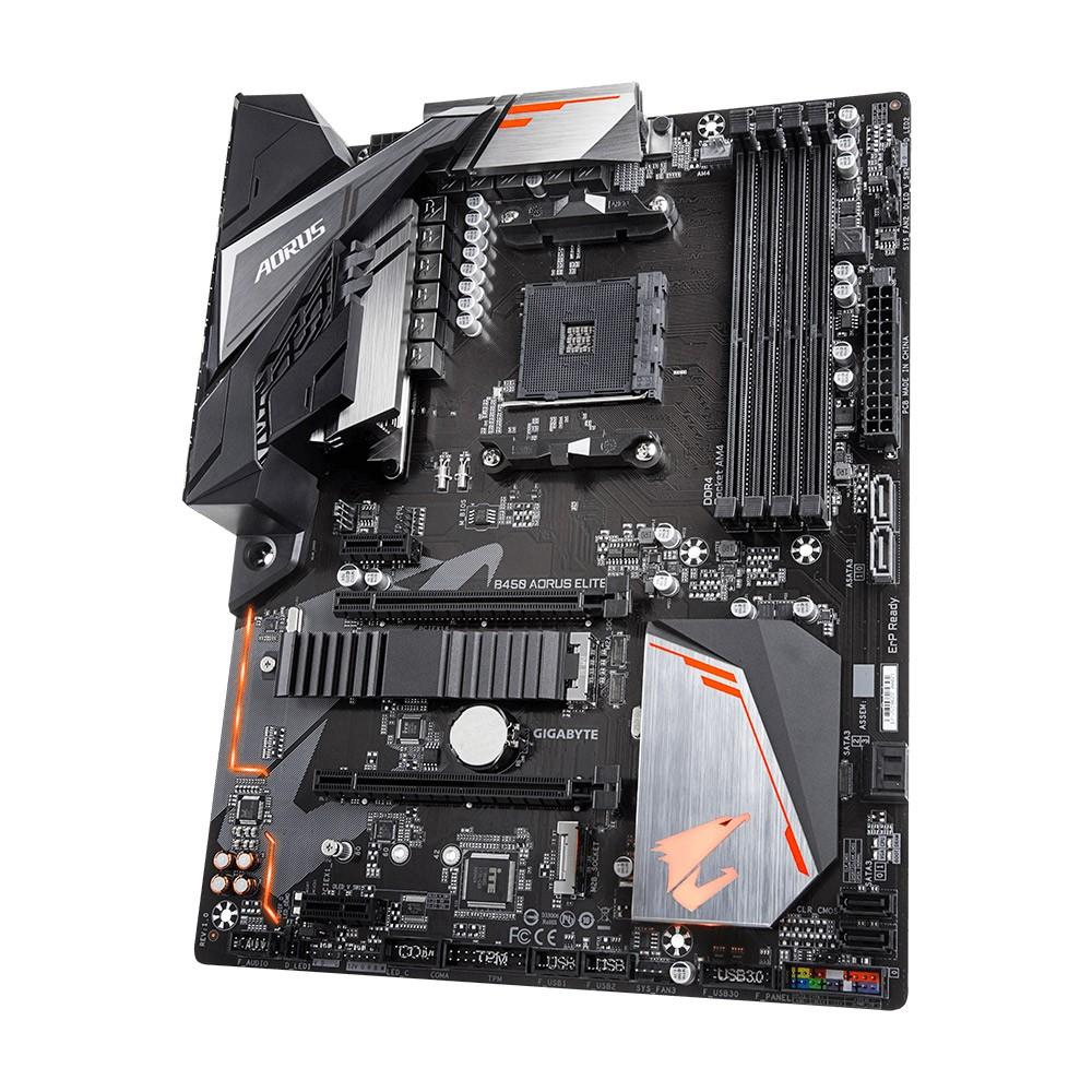 Gigabyte - Motherboard Gigabyte B450 Aorus Elite