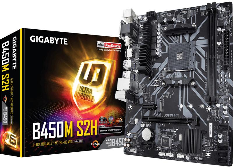 Motherboard Gigabyte B450M-S2H