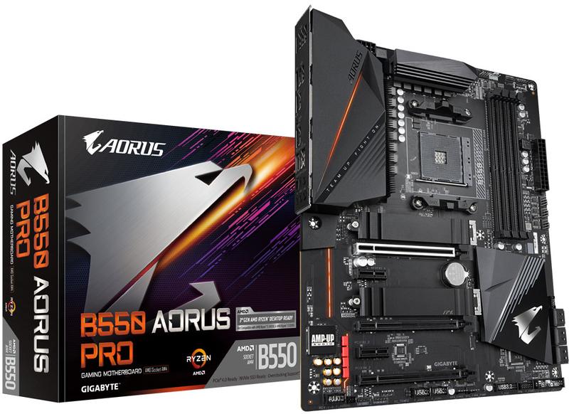 Gigabyte - Motherboard Gigabyte B550 Aorus Pro