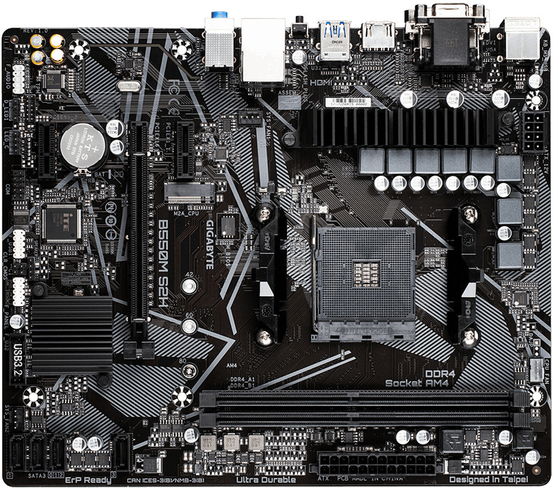 Gigabyte - Motherboard Gigabyte B550M S2H