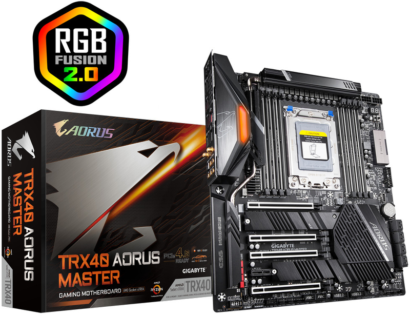 Motherboard Gigabyte TRX40 Aorus Master
