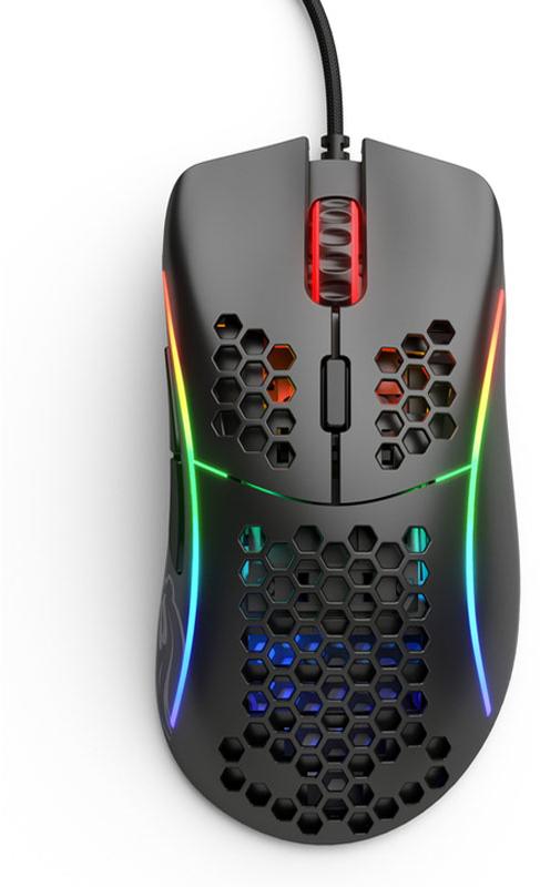 Glorious PC GR - Rato Glorious PC Gaming Race Model D Preto