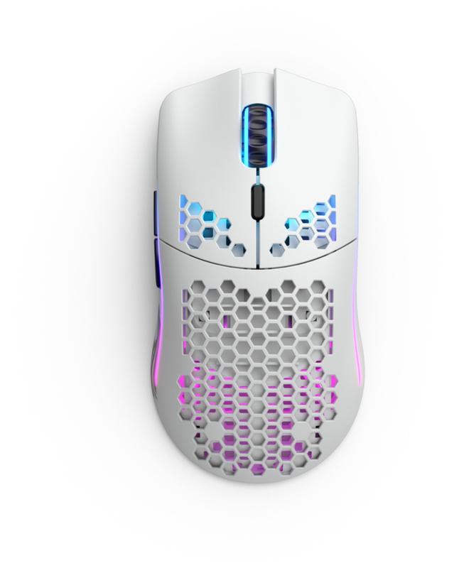 Glorious PC GR - Rato Glorious PC Gaming Race Model O Wireless Branco