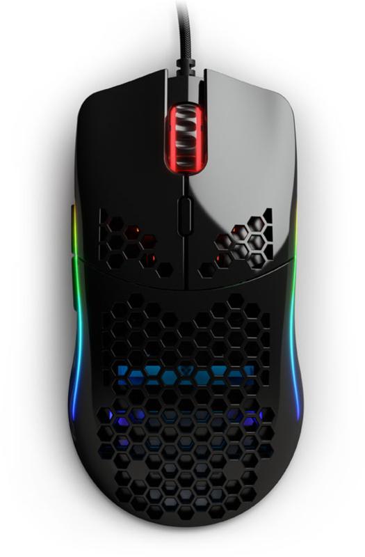 Glorious PC GR - Rato Glorious PC Gaming Race Model O- Glossy Preto