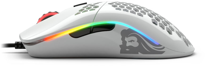 Glorious PC GR - Rato Glorious PC Gaming Race Model O- Glossy Branco